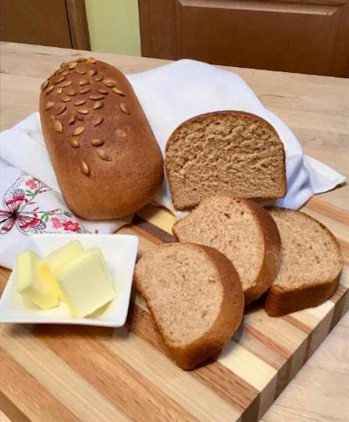 Homemade Sprouted Wheat Bread